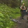 Officials: 2 bikers attacked by cougar did what they were supposed to do