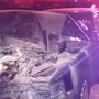 Suspected DUI driver crashes Cadillac into SUV, truck