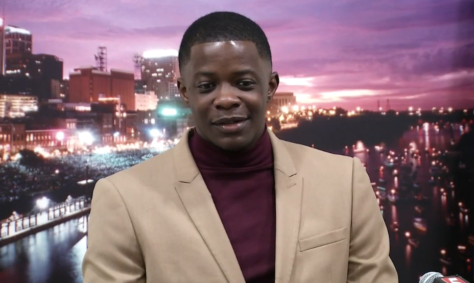 James Shaw, the hero patron who helped prevent further bloodshed by stopping a gunman who opened fire at a Tennessee Waffle House. PHOTO: FOX 17 News