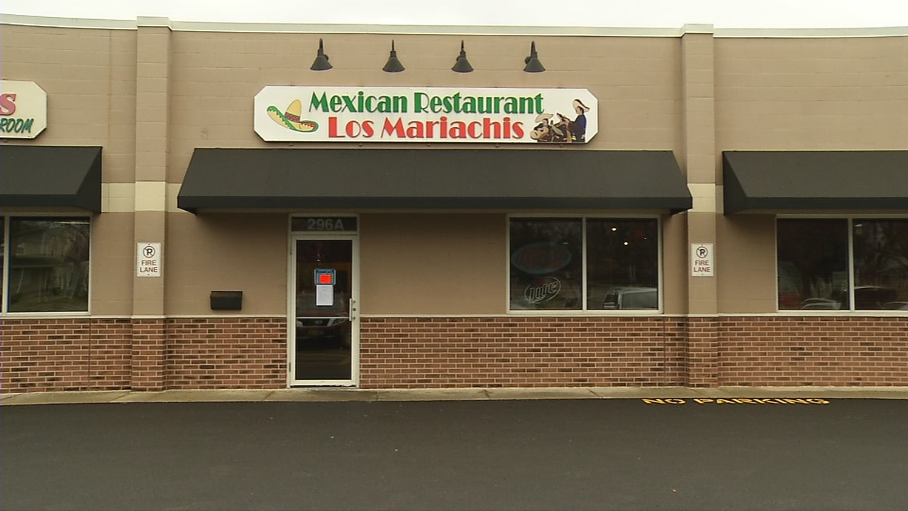 Los Mariachis in Groveport is in trouble with the health department again. (WSYX/WTTE)