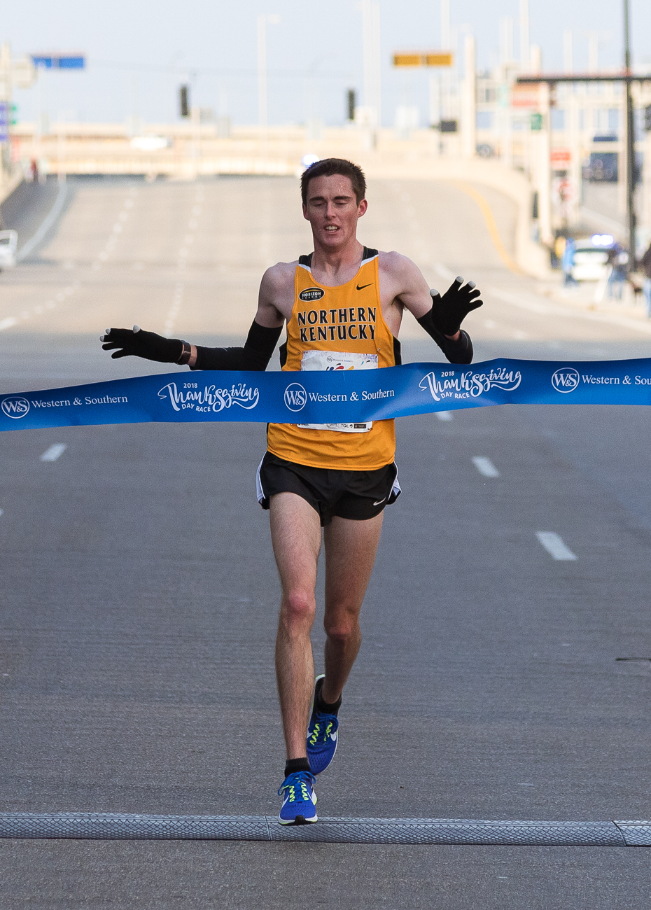 JJ Webber won the race with a time of{ }30:14. / Image: Phil Armstrong, Cincinnati Refined // Published: 11.23.18