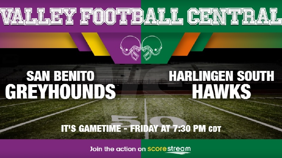 Listen Live: San Benito Greyhounds vs. Harlingen South Hawks