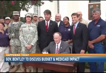 Gov. Bentley to discuss budget and Medicaid impact
