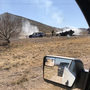 Fiery crash reported at the Anthony Gap