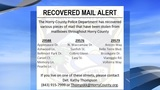 Missing mail? Horry County police say they might have it