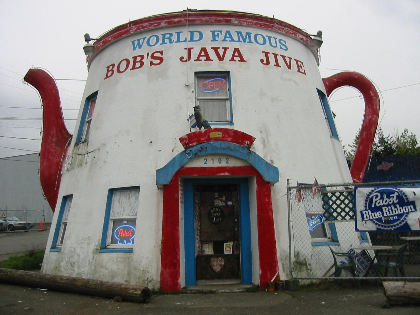 Bob's Java Jive has been around since 1927, making it a whopping 90 years old. (Image: https://flic.kr/p/Nq76)