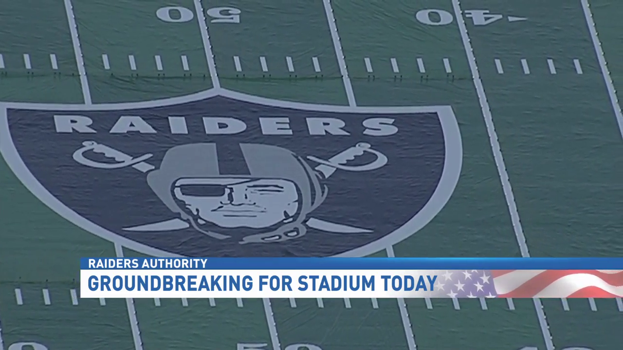 #RaidersAuthority: Groundbreaking for Las Vegas stadium happening today (KSNV)