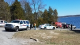 Water Rescue Underway on Percy Priest Lake