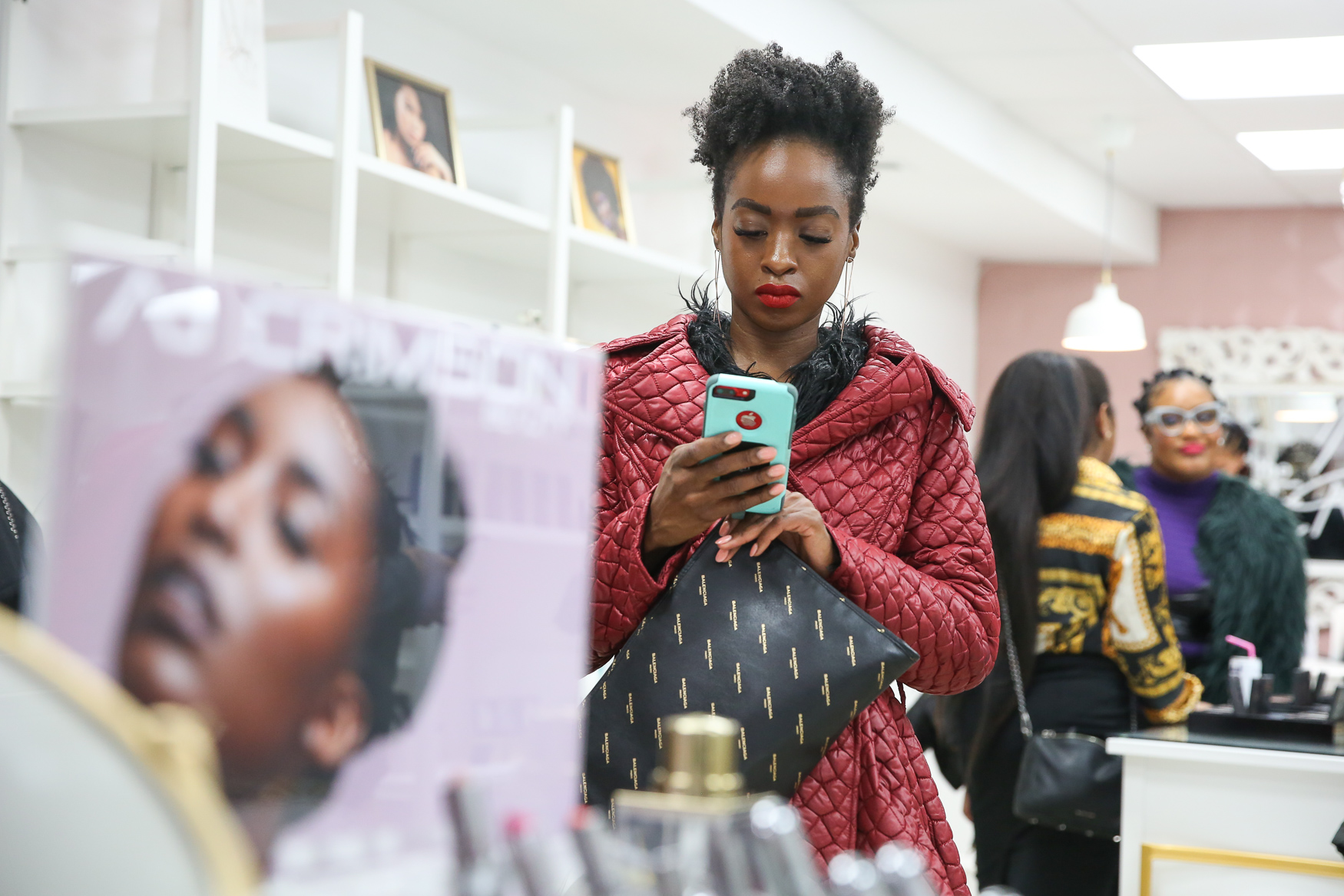 For many women of color, finding beauty products can be a frustrating, alienating and time-consuming experience. Now, there's another option for the women of D.C. - the Brown Beauty Co-op, which opens in Dupont Circle on December 8. The store includes beauty brands that cater to women of color - co-owner Kimberly Smith says that means anyone who identifies as a woman of color, no matter how light or dark their skin is. Smith is a lawyer by training, but she is also the founder of online retailer{ }Marjani Beauty, which caters to women of color.{ }The Brown Beauty Co-op aspires to be more than just a beauty retailer - best friends and co-owners{ }Kimberly Smith and Amaya Smith hope to facilitate events in the space and give local and indie brands a brick and mortar presence.{ } (Amanda Andrade-Rhoades/DC Refined)