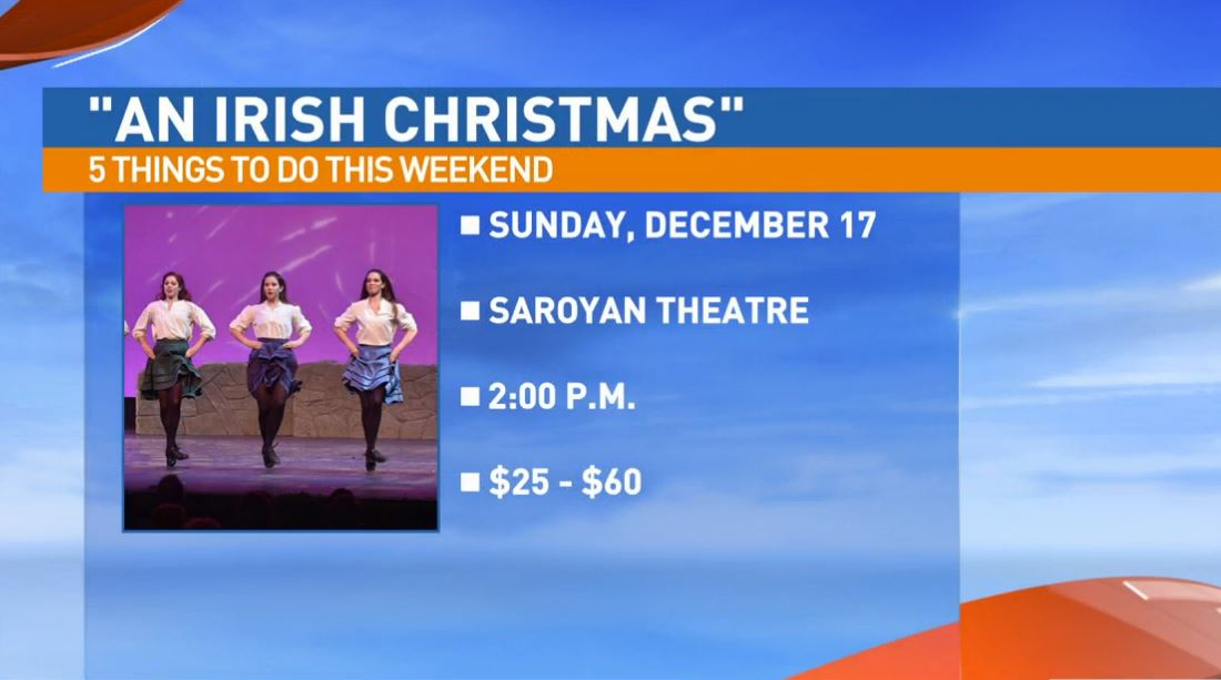 An Irish Christmas Sunday at the Saroyan Theatre in downtown Fresno