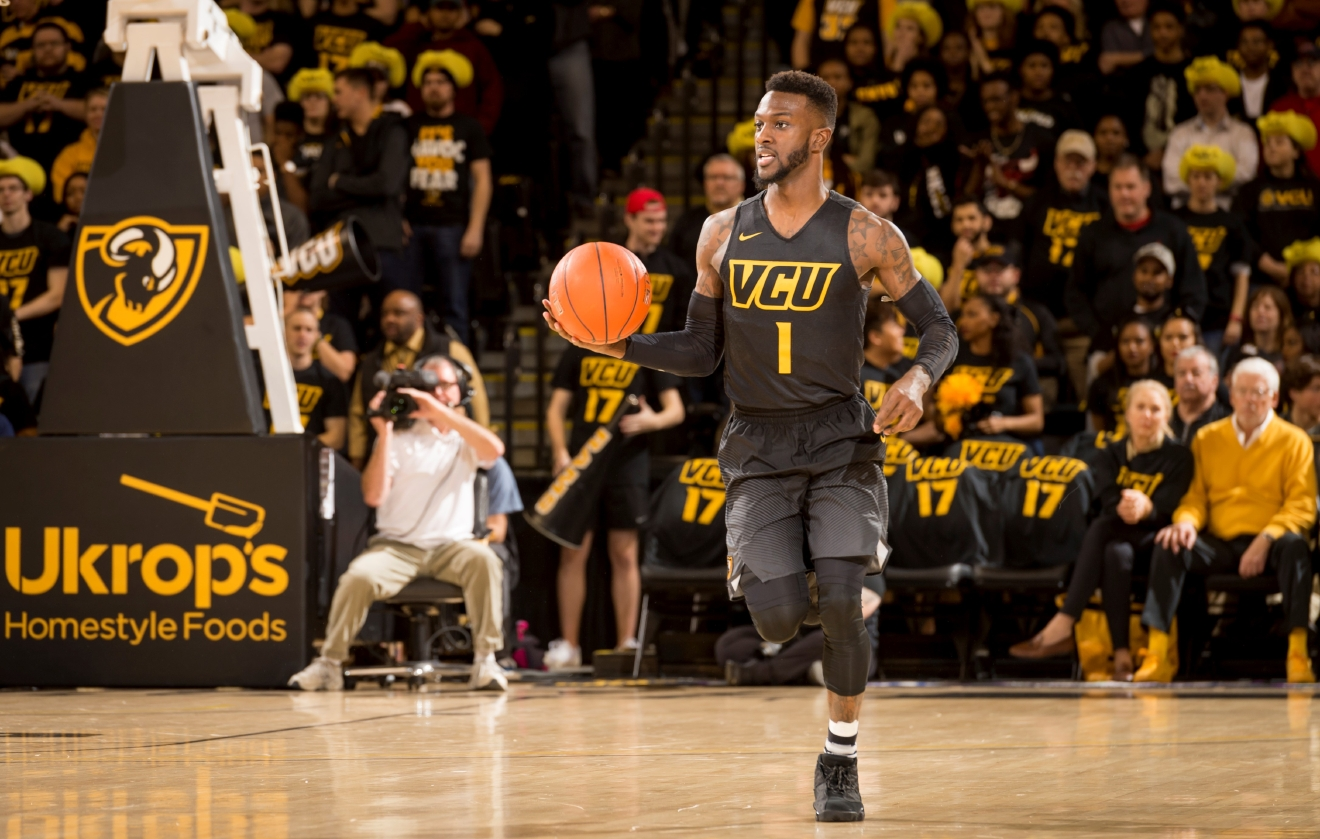 JeQuan Lewis (Photo courtesy VCU Athletics)