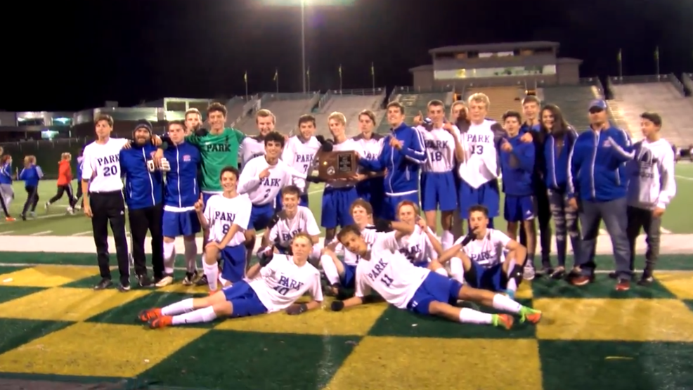 10.24.17 Highlights - Wheeling Park boys advance to state soccer tournament