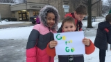 Cheering on the Green and Gold at Langlade Elementary