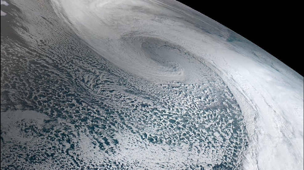 Massive storm blasts Alaska's Adak Island with 122 mph winds