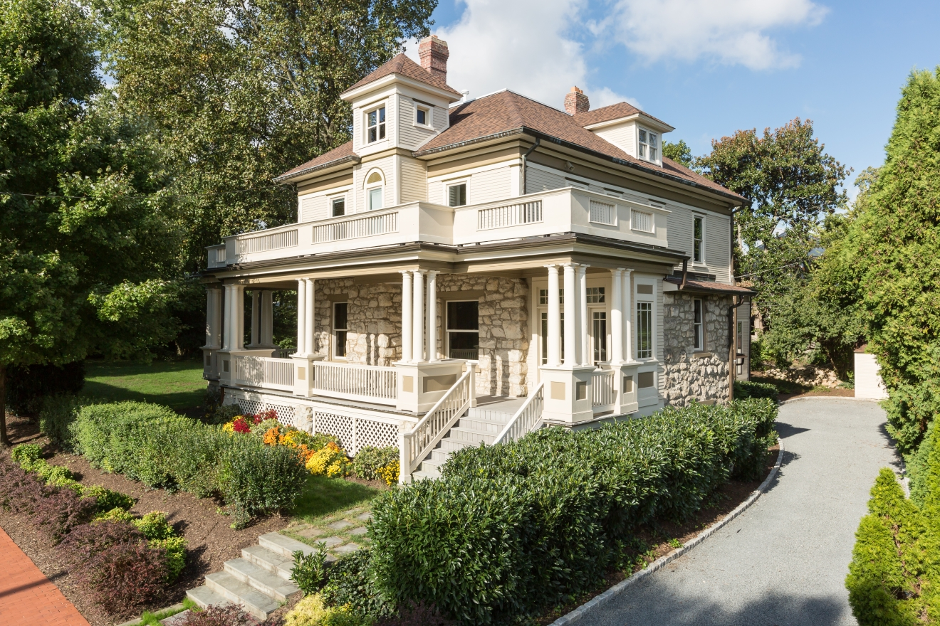 "If the walls of this historic Bethesda home (only ever owned by two families) could talk, we would surely hear a lot of stories about  one of the original developers of AU Park, Galin L. Tait, Pulitzer Prize-winning reporter C.P. ""Peck"" Trussell and former Speaker of the House Sam Rayburn. (Image: Courtesy TTR Sotheby's International Realty)"