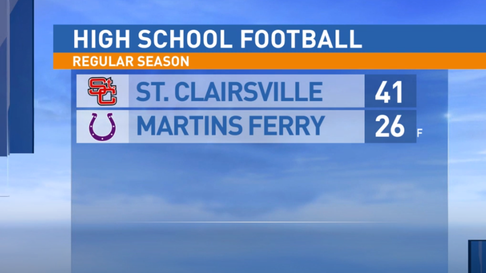 9.20.19 Highlights: St. Clairsville at Martins Ferry