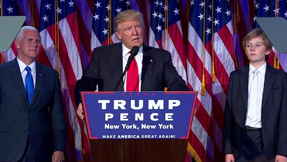 Donald Trump wins presidential election