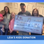 Leia's Kids donates to Martins Ferry family fighting childhood cancer