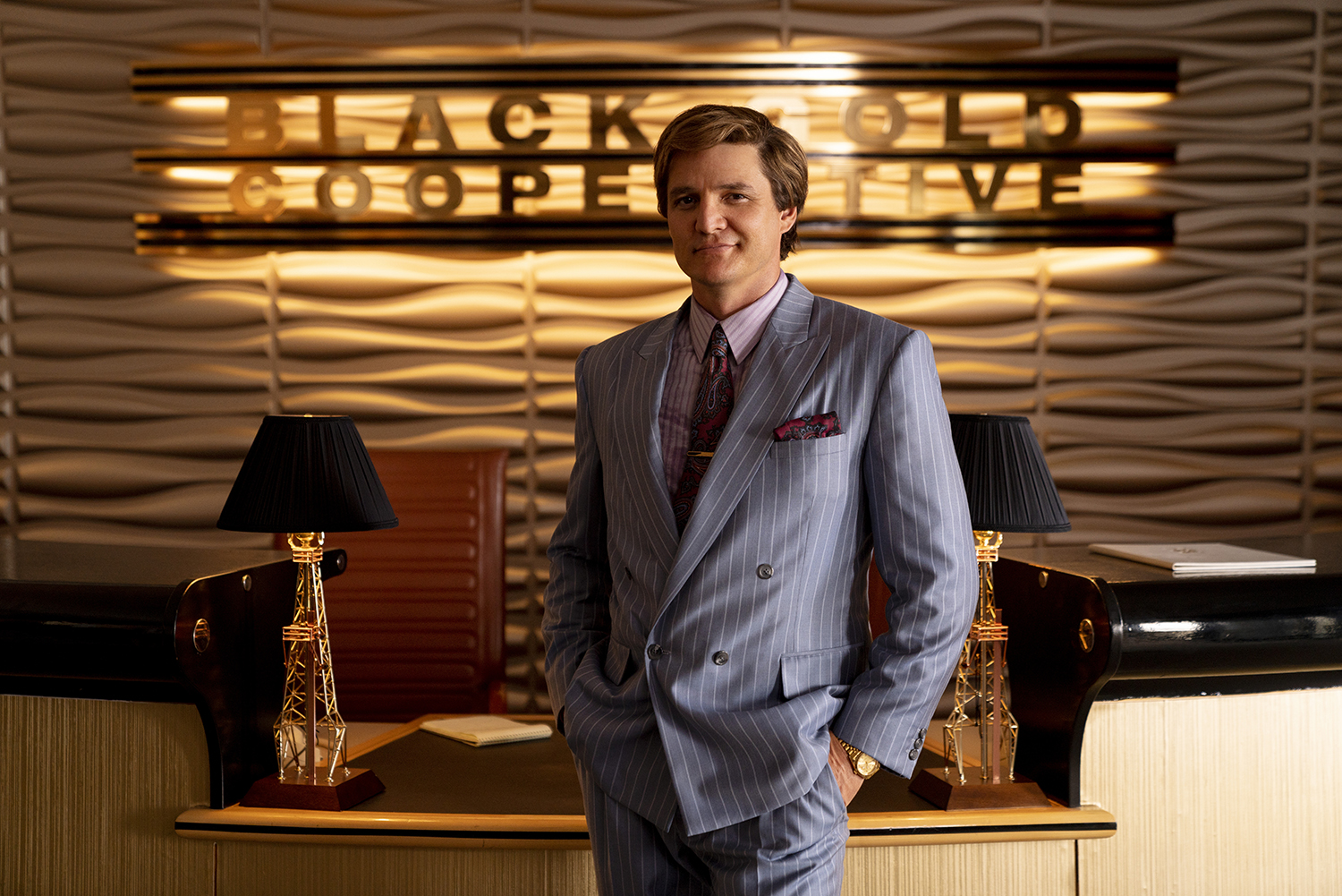PEDRO PASCAL as Maxwell Lord (Image: Warner Bros. Pictures)