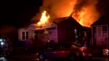 House destroyed by fire, homeowner escapes