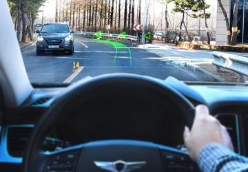 Hyundai turns the windshield into an augmented reality nav system