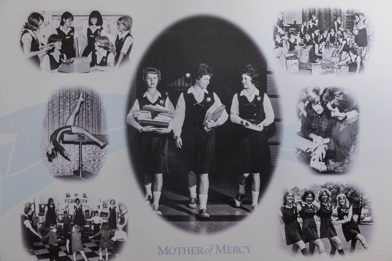 Mother of Mercy High School is an all-girls, private Catholic high school located in Westwood. School is in session for the last time as it'll be closing due to declining enrollment at the end of the 2018 school year. After closure, faculty and students will move to McAuley High School. The first permanent school building on the premises was completed in 1923, and it later expanded in 1928. Known locally for being architecturally significant, it was designed by the firm of Samuel Hannaford & Sons years after the architect of the same name had passed. ADDRESS: 3036 Werk Road (45211) / Image: Mike Menke // Published: 4.7.18