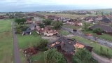 Nearly 100 homes damaged as tornado tears 15-mile track in western Oklahoma