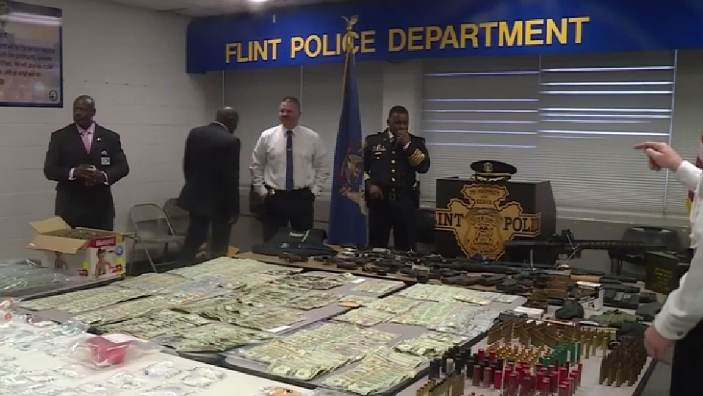 Flint police CATT squad makes 126 arrests, takes $86K in drugs off