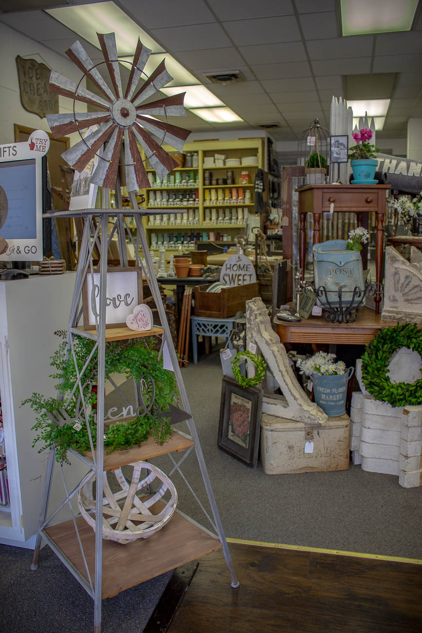 Curt & Wendy Critcher are the married couple, antique collectors, engravers, and furniture decorators behind Dresser Up Vintage Boutique in Newport. The antique shop features all kinds of vintage collectables, as well as furniture and home decor that have been spruced up with Wendy's painting. She also hosts workshops in the shop to teach people how to repurpose beautiful, historic gems themselves. ADDRESS: 911 Monmouth Street (41071) / Image: Katie Robinson, Cincinnati Refined // Published: 6.8.19