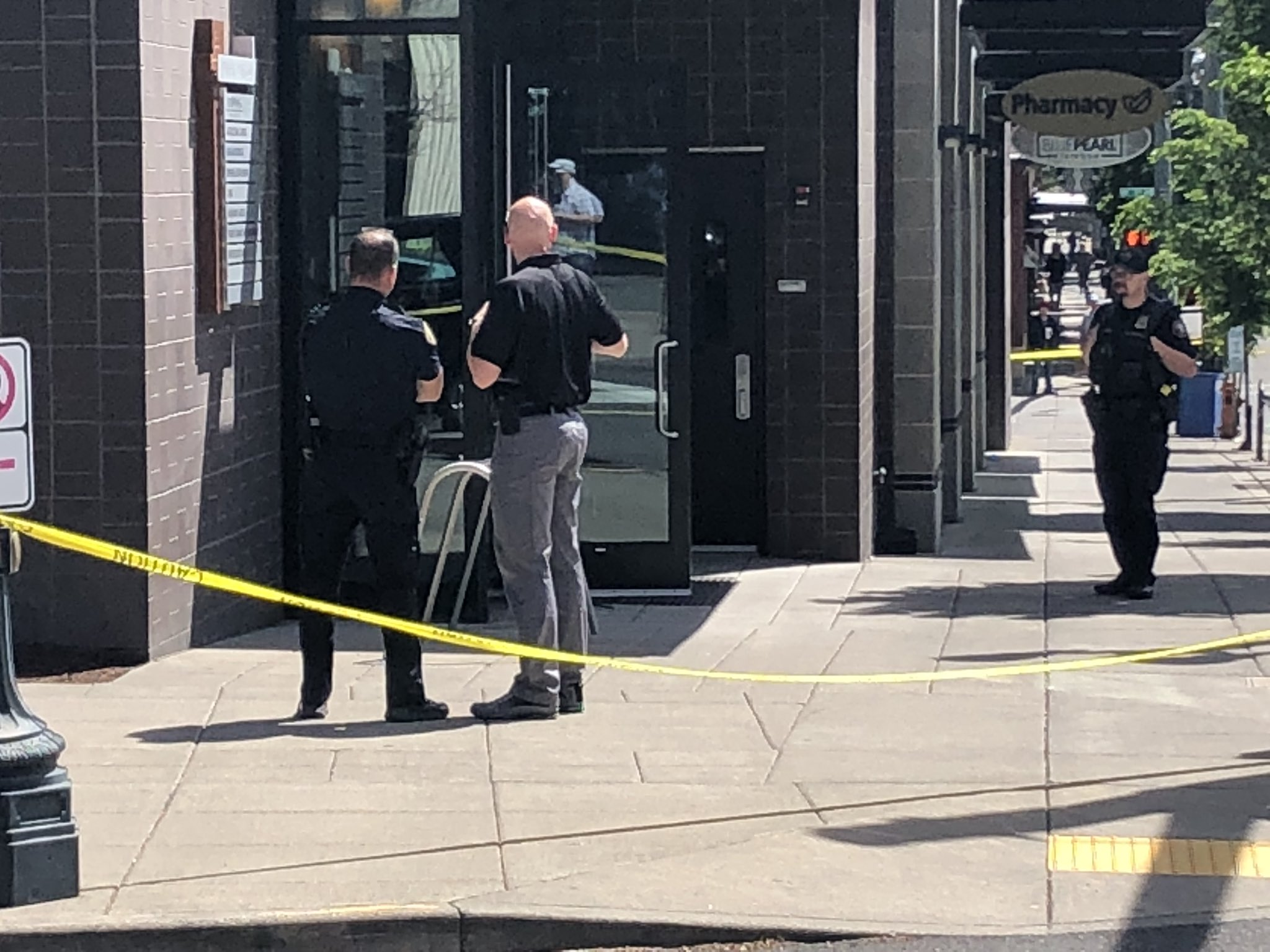 Portland Police Bureau was involved in a shooting inside The Lovejoy building in Portland's Pearl District on June 9, 2019. Photo by Scott Perry