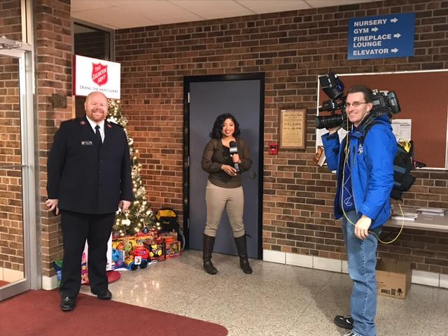 Salvation Army of Genesee County in need of more donations. (Photo: Courtney Wheaton){&amp;nbsp;}<p></p>