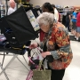Born before women could vote, Las Vegas woman casts her ballot in historic election