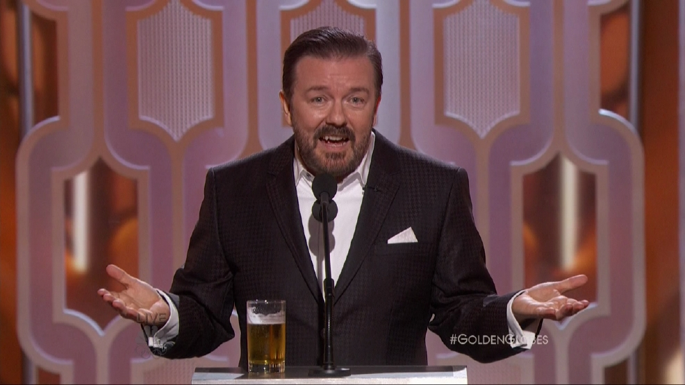Ricky Gervais: 'I want Donald Trump to be president'