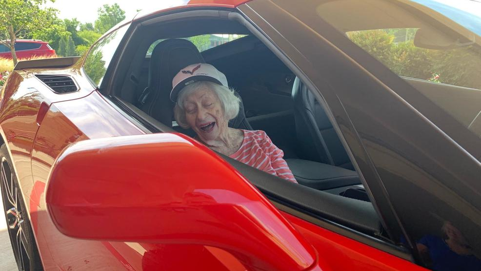 91-year-old Tulsan gets Corvette wish granted | KTUL