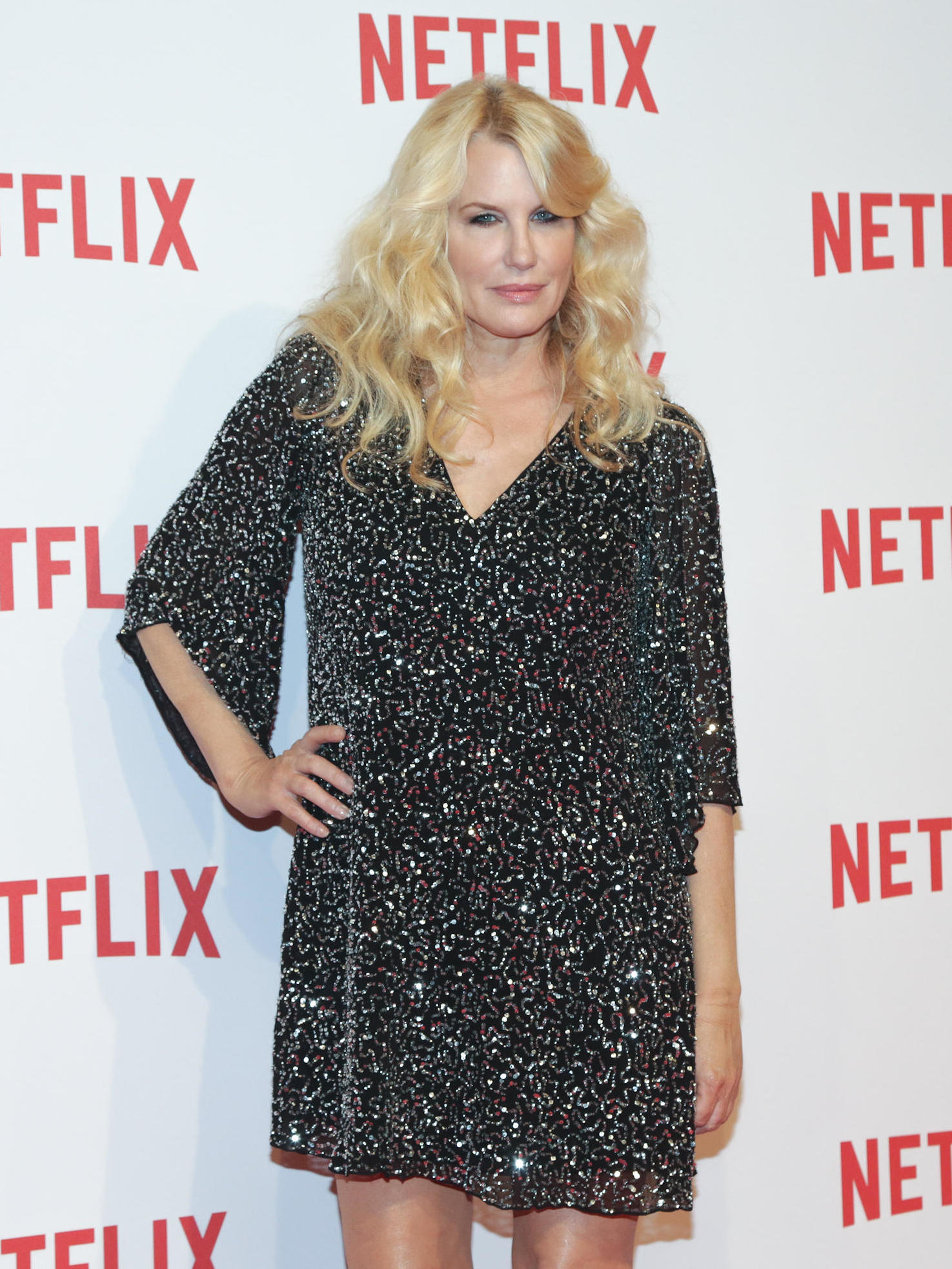 Daryl Hannah at the Netflix launch held at Palazzo Del Ghiaccio in Milano on Oct. 22 2015. (KIKA/WENN.com)