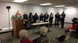 Coalition against proposed Elkhart County detention center holds news conference
