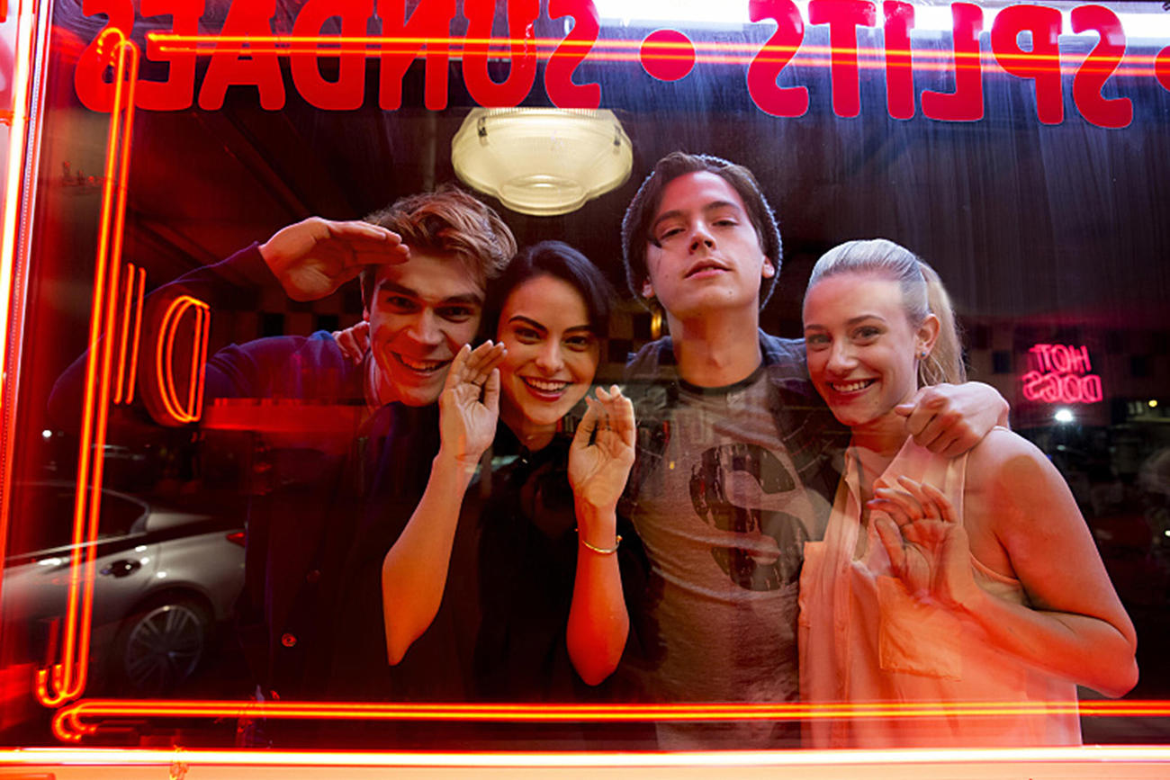 Based loosely (veeeeery loosely based on what we've seen in trailers so far) on the Archie Comics,  Riverdale is the story of Archie, a high school student who finds himself torn between his passion (music) and what his football coach father wants for him -  to work for his construction business. (Credit: CW)