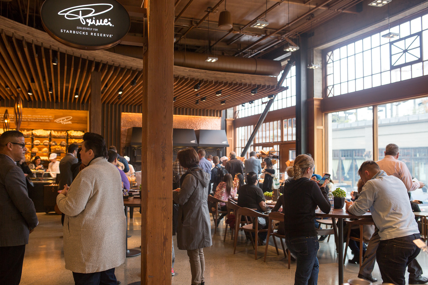 Princi opens at the Starbucks Reserve Roastery (Image: Paola Thomas / Seattle Refined)