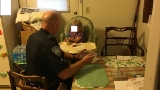 Charleston Police change diaper, feed hungry 2-year-old girl left home alone