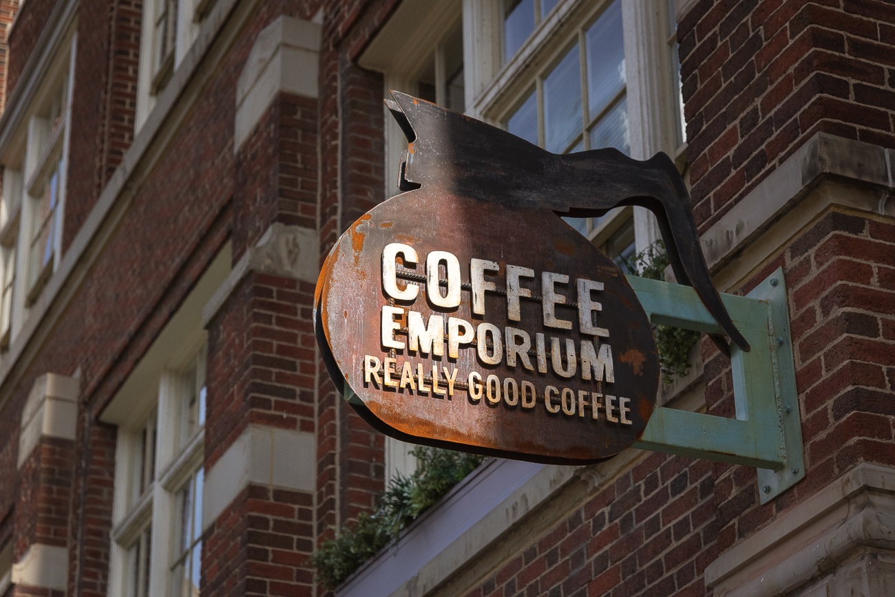 Coffee Emporium was started in 1973 in Hyde Park. In 2002, it expanded to Over-the-Rhine. / Image: Phil Armstrong, Cincinnati Refined // Published: 7.21.18
