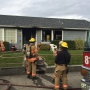 Structure fire in Medford put out quickly, displaces one family