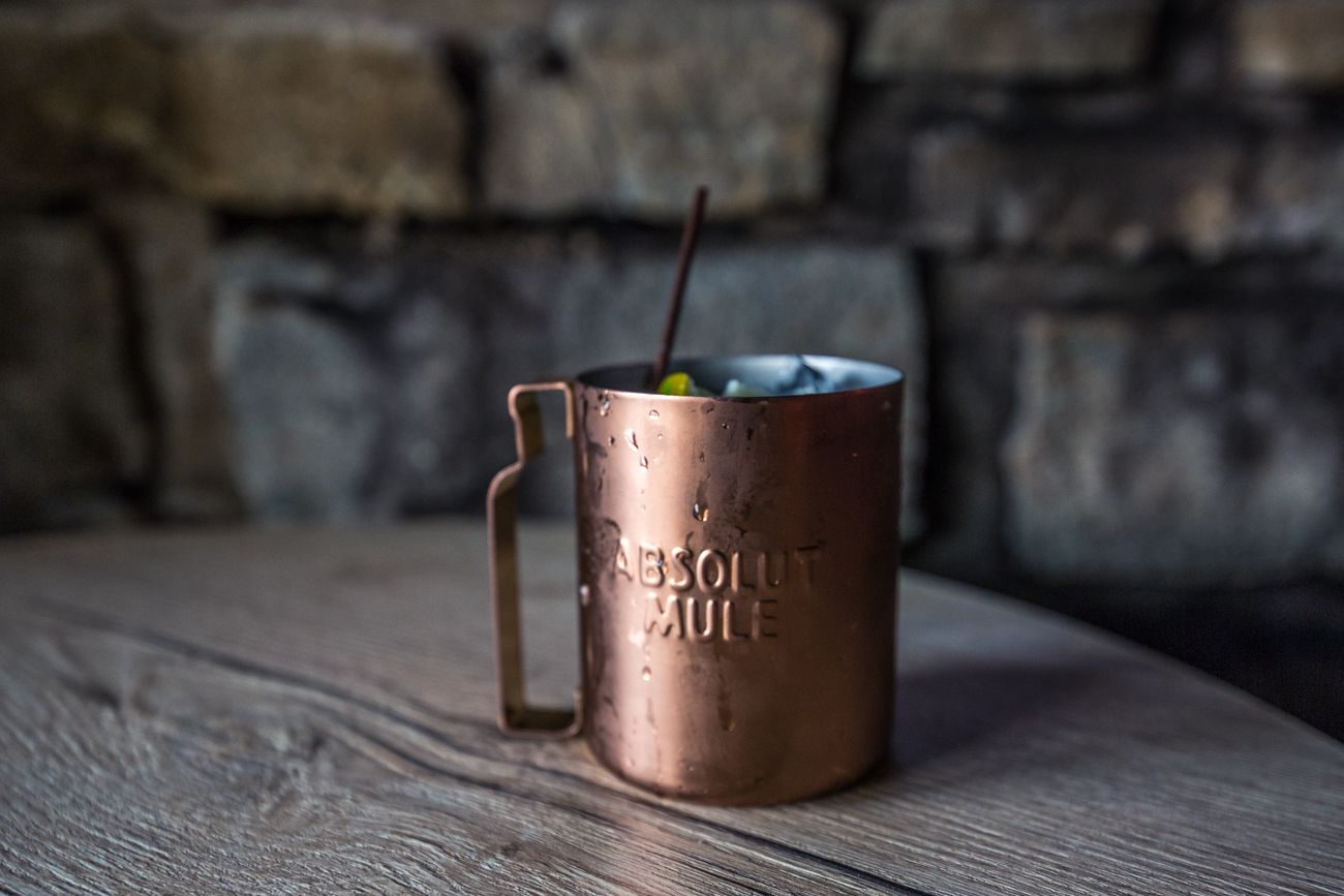 Lime Mule: Lime Absolute, Gosling's Ginger Beer, and lime / Image: Catherine Viox{ }// Published: 5.20.19