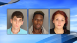 Berkeley County detectives arrest 3 people found with stolen guns & drugs in Sangaree area