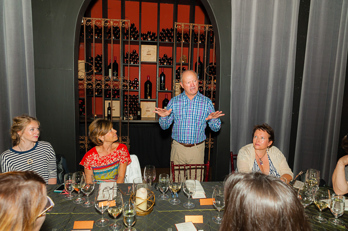 Winemaker Dinner at JM Cellars (Image: Courtesy Richard Duval)