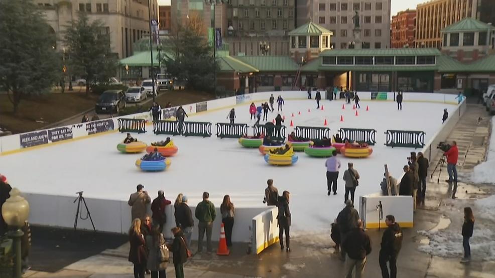 Providence marks renaming, opening of skating rink