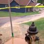 Lines burst during water hydrant replacement project