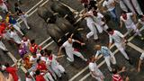 2 Americans gored in Pamplona's second bull run of 2017