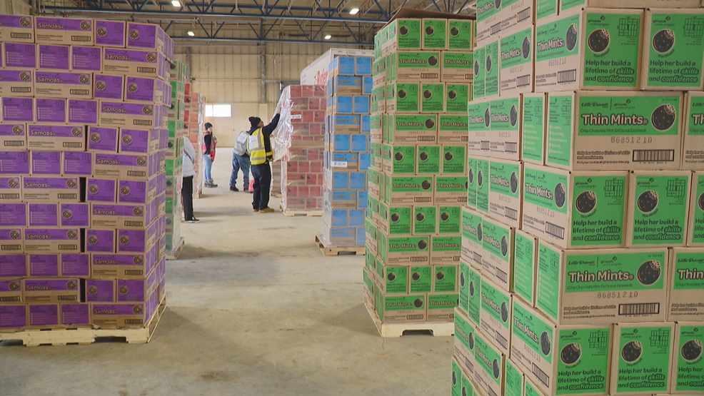 Girl Scout Cookies are now in Syracuse ahead of National Cookie Weekend