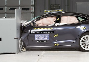 Tesla slams IIHS after 'Acceptable' Model S test