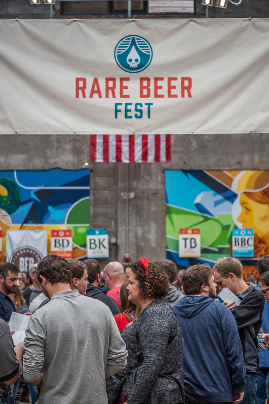 Rhinegeist hosted Rare Beer Fest on Saturday, October 28. The event showcased 46 breweries from across the country (and 15 local breweries) in a one-day celebration of craft beer. Cheers! RHINEGEIST'S ADDRESS: 1910 Elm Street (45202) / Image: Mike Menke // Published: 10.29.17